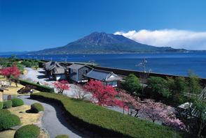 kagoshima travel tourism hotel senganen gardens sakurijima kinko bay shimazu