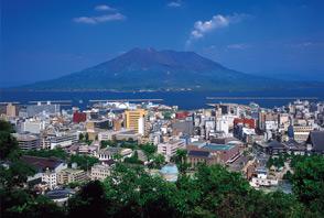 kagoshima city travel tourism shiroyama park observatory sakurijima