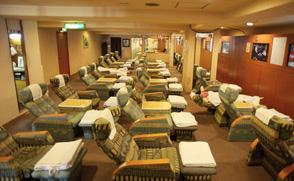 kagoshima hotel onsen spa reclining chairs lounge new nishino